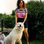 maria scarlata e cane