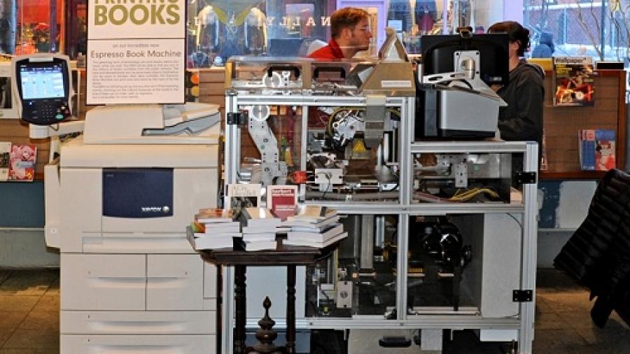 McNally Espresso Machine