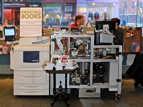 machine of book