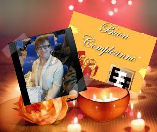 Buon compleanno Grazia Maria Francese