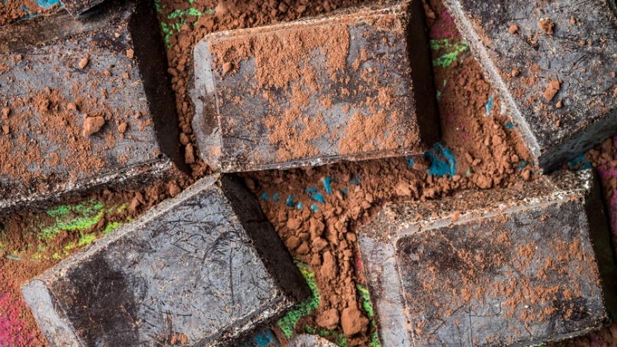 Cioccolato di Modica (Chocolate of Modica) sicilian specialty)