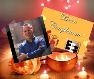 Buon compleanno Davide Baraldi