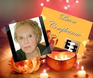 Buon compleanno Luigia Bimbi
