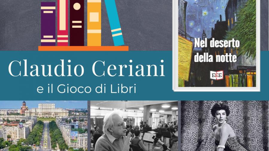 Claudio Ceriani e il Gioco di Libri